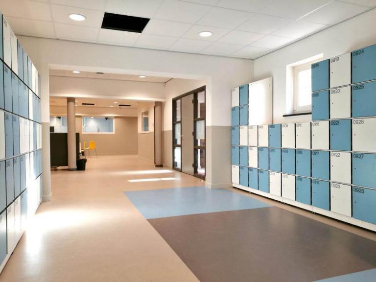 Szafki korytarzowe do szkól i biur